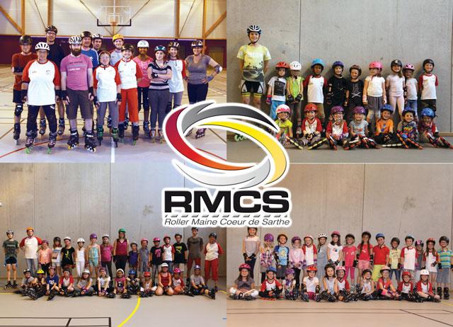 les équipes du club de roller RMCS