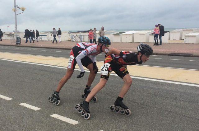 RMCS : Roller Maine Coeur de Sarthe. championnat de France Marathon à calais